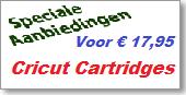 Cricut Cartridges tegen een prijs die u niet kunt laten lopen.