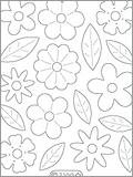 Velvet stickers