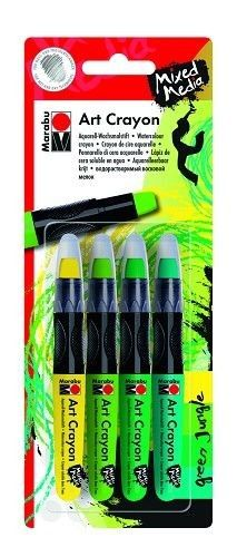 Art Crayon - Set greenjungle 4x  (014000200)