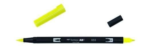 Tombow ABT dubbele brushpen process yellow ABT-055 (380020/0055)