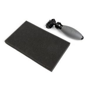 Sizzix Accessory - Die brush & foam pad for Wafer Thin Dies (660513)