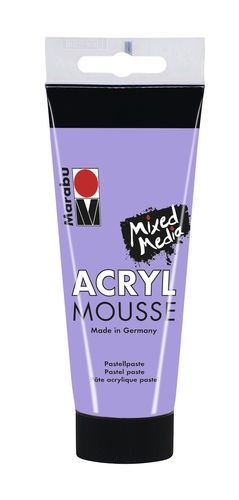 Acryl mousse 100ml - Lavendel - 007 (120550007)