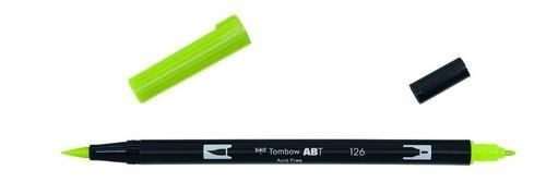 Tombow ABT dubbele brushpen light olive ABT-126 (380020/0126)