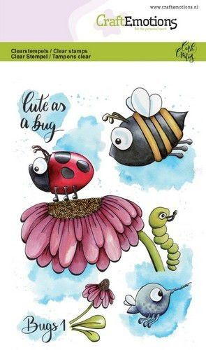 CraftEmotions clearstamps A6 - Bugs 3 Carla Creaties (05-19) (130501/1633)