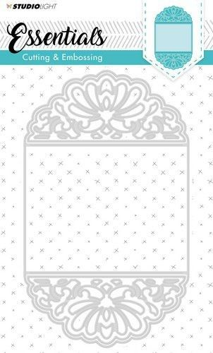 Studio Light Embossing Die Cut Stencil Essentials nr.196 STENCILSL196 207x123 mm (07-19)*