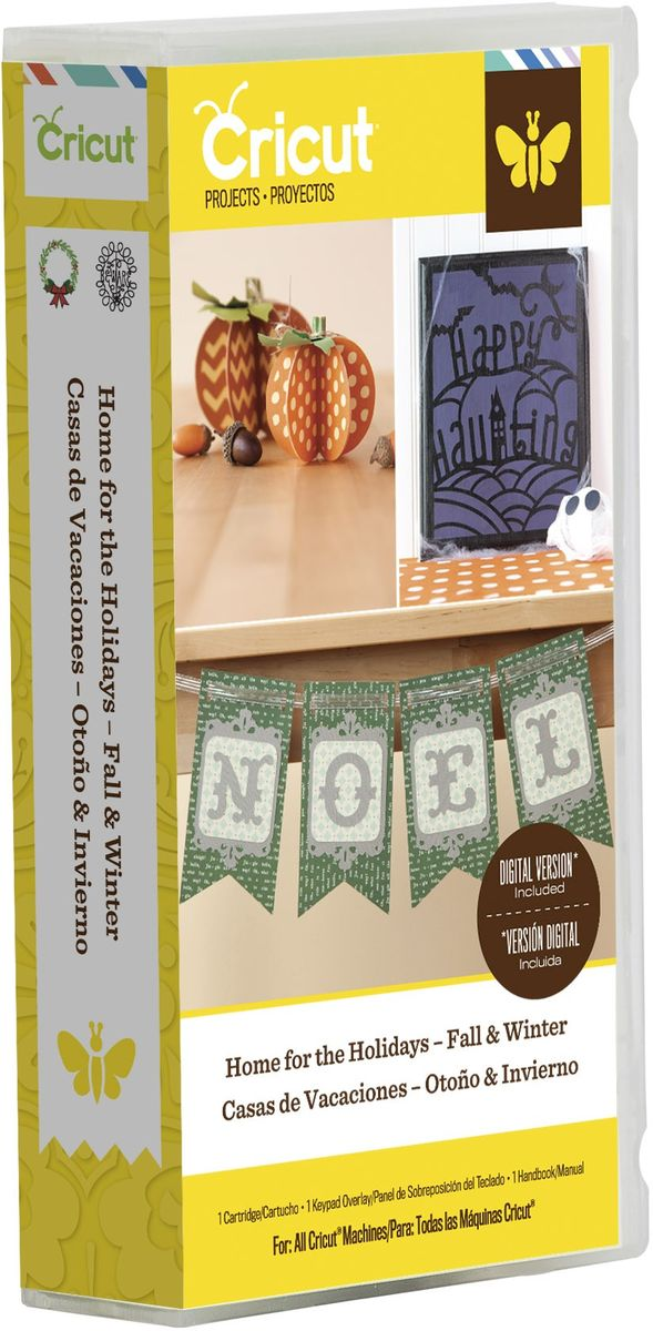 Cricut Cartridge - Home for the Holidays - Fall & Winter (2002132)