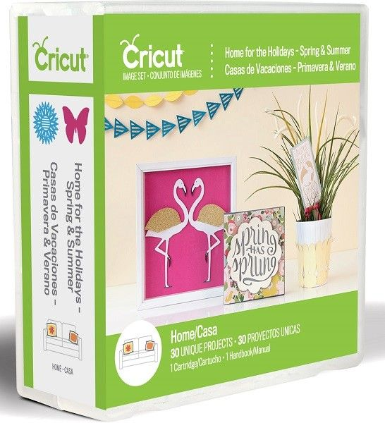 Cricut Cartridge - Home for the Holidays - Spring and Summer (2002371)