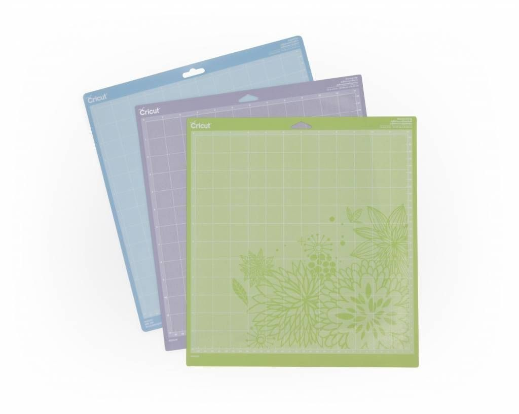 Cricut - Cutting Mat - 12x12 inch - LNS Grip (3x1 st) (2003546)
