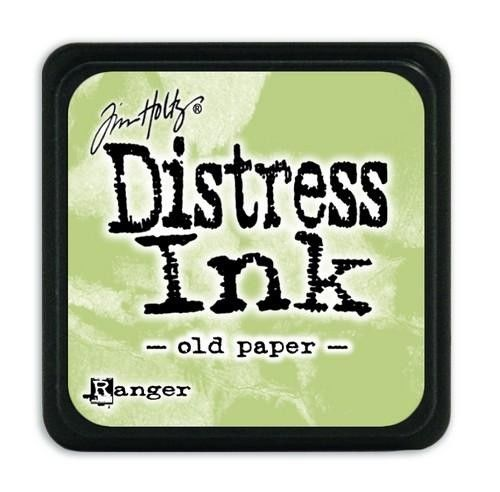 Ranger Distress - Mini Ink pad - old paper - Tim Holtz (TDP40057)