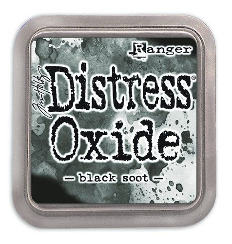 Ranger Distress Oxide - black soot  Tim Holtz (TDO55815)
