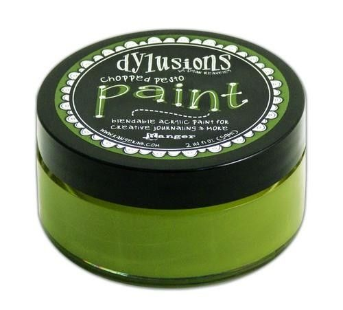 Ranger Dylusions Paint 59 ml - chopped pesto DYP52715)