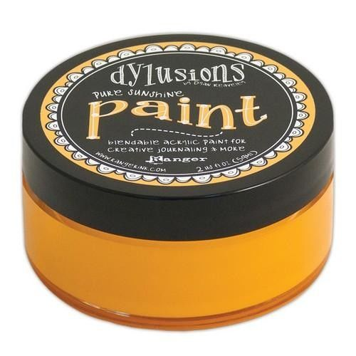 Ranger Dylusions Paint 59 ml - pure sunshine DYP52746)