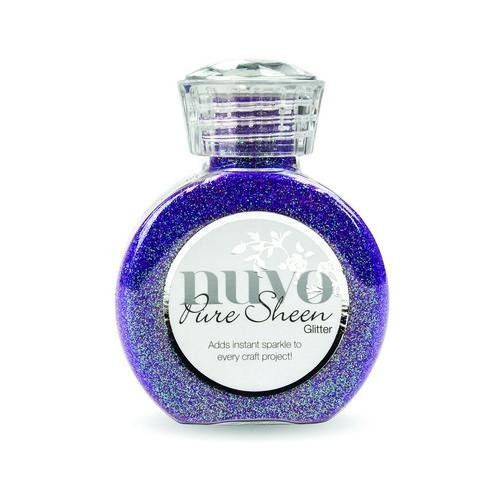 Nuvo Pure sheen glitter - Violet infusion (723N)