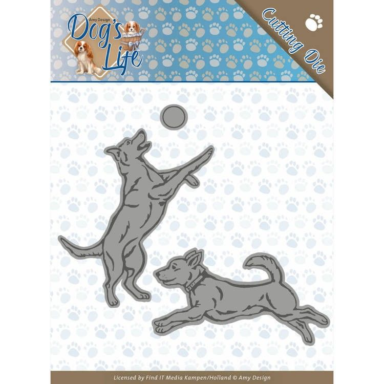 Dies - Amy Design - Dogs - Playing Dogs (ADD10190)