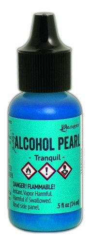 Ranger Alcohol Ink Pearl 15 ml - Tranquil TAN65159 Tim Holtz (03-19)