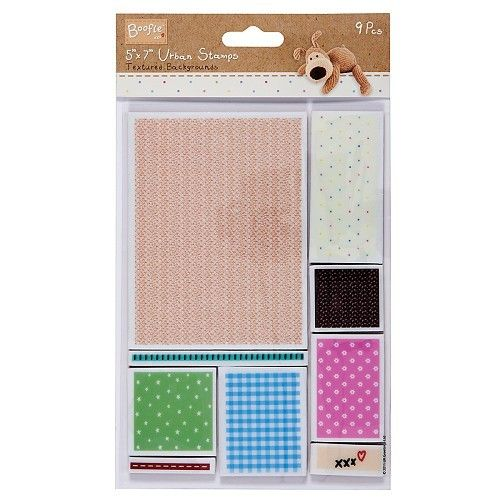 Clearstamp - Boofle - Urban stamps - Patchwork background