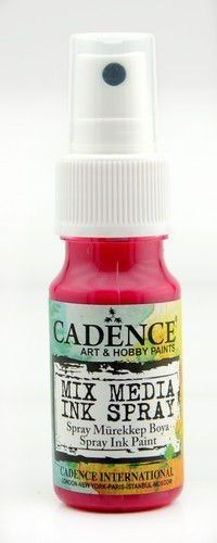 Cadence Mix Media Shimmer metallic spray Licht fuchsia 0015 25ml (301280/0015)