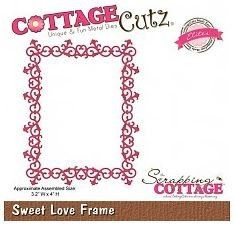 Cottage Cutz - Sweet Love Frame - CCE-098