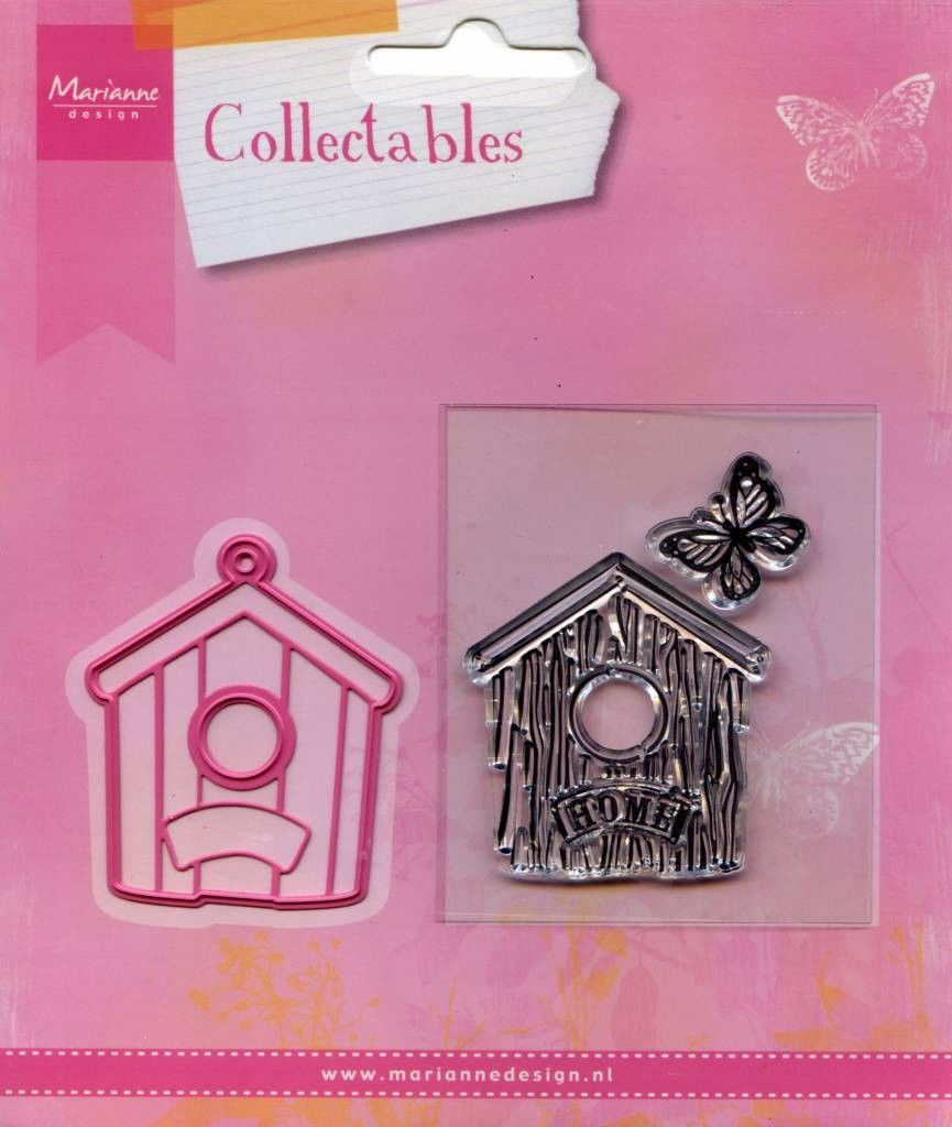 Marianne Design - Collectables - Vogelhuis huis (COL1309) (25% KORTING)*