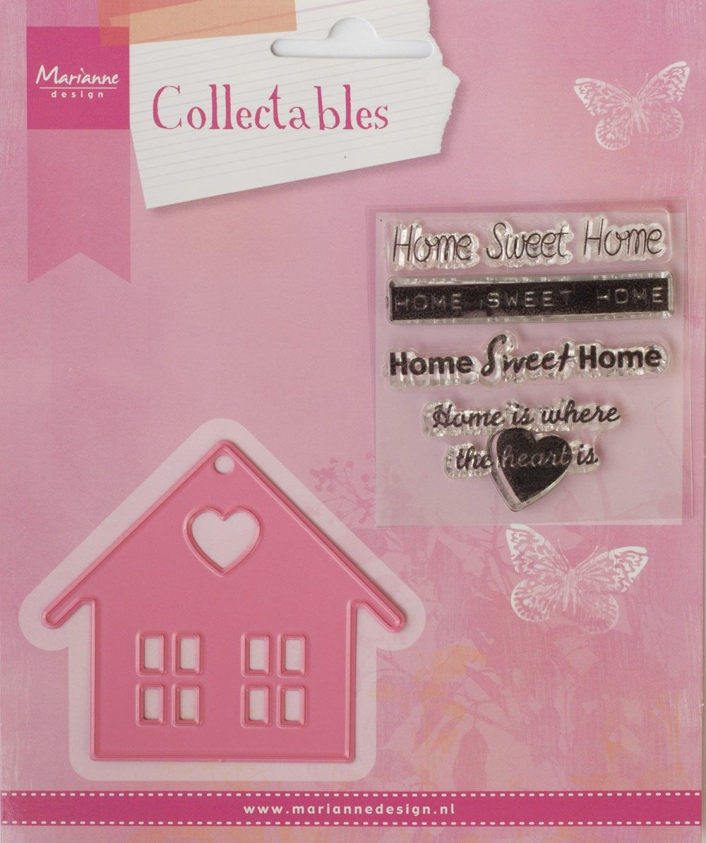 Marianne Design - Collectables - Home sweet home (COL1333) (25% KORTING)*