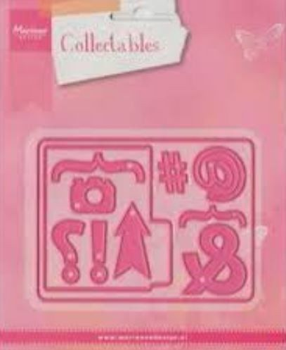 Marianne Design - Collectables - Pocket Card& Marks (COL1389) (25% KORTING)*