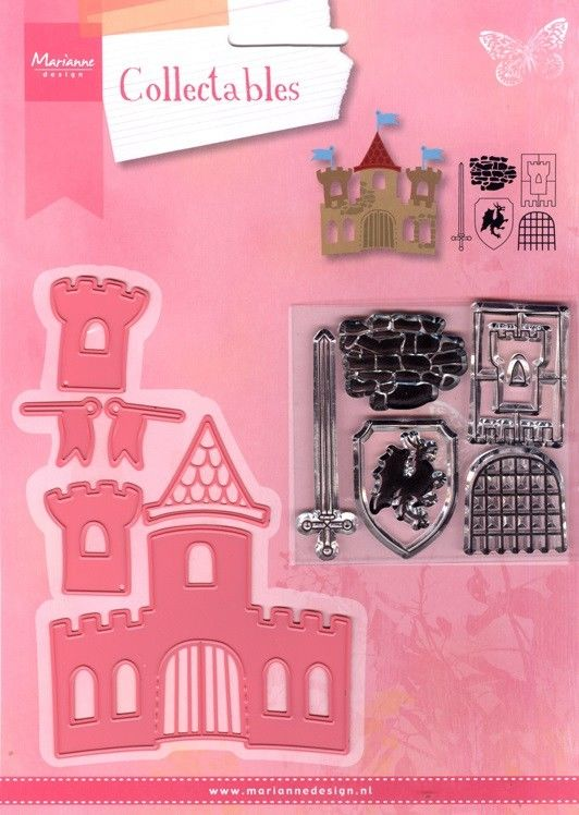Marianne Design - Collectables - Castle (COL1404) (25% KORTING)*