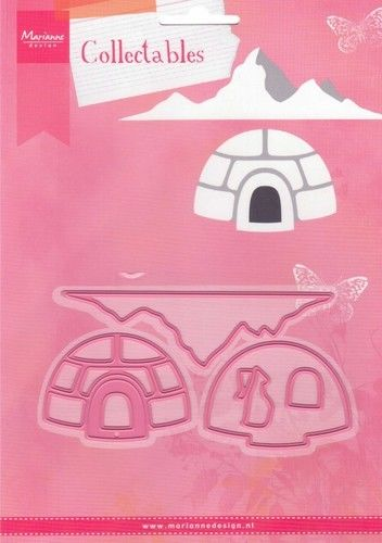 Marianne Design - Collectables - Igloo and mountain (COL1417) (25% KORTING)*