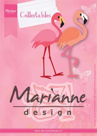 Marianne Design -  Collectables - Eline`s flamingo 75x53mm  (COL1456) (20% KORTING)*