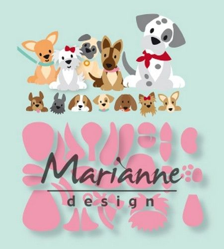 Marianne D Collectable Eline`s puppy COL1464 129x94mm (03-19)