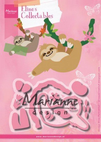 Marianne D Collectable Eline's Luiaard COL1471 115,5x72mm (07-19)