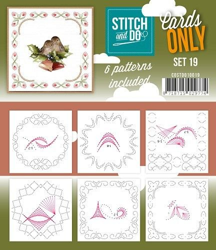 Stitch and Do - Cards only 19