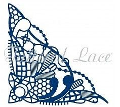 Die - Tattered Lace Royal Lace 2 Corner (D1075)
