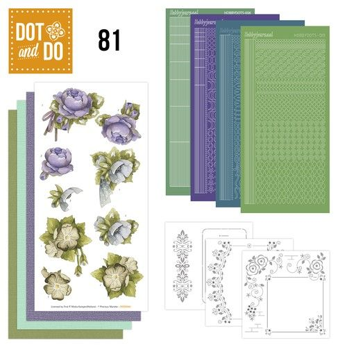 Hobbydots dot & do 081 - Floral Corner