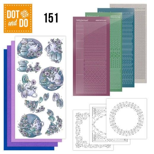 Hobbydots dot & do 151 - Tea Time