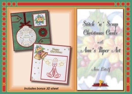Hobbydols 035: Stitch 'n Scrap Christmas cards
