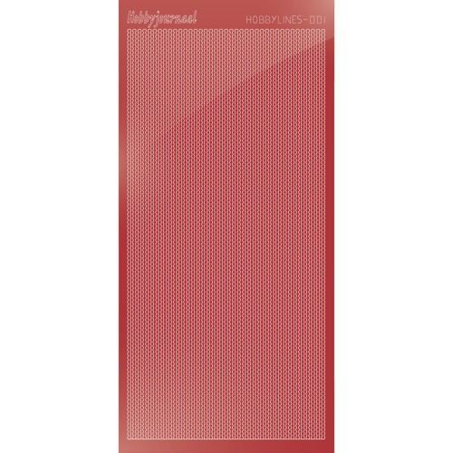 Hobbylines 001 - Mirror Christmas Red