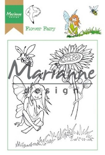 Marianne D Clear Stamp Hetty`s Flower Fairy HT1645 15,5 x 10,5 cm (03-19)*