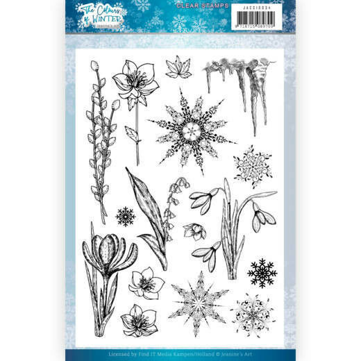 Clear Stamps - Jeanine's Art - The colours of winter