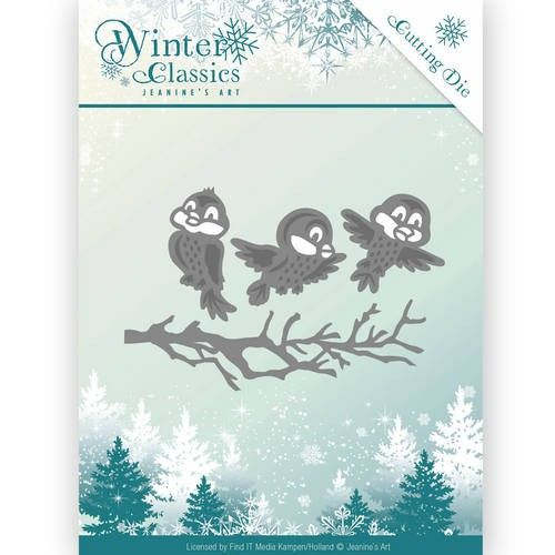Die - Jeanine's Art - Winter Classics - Winter birds