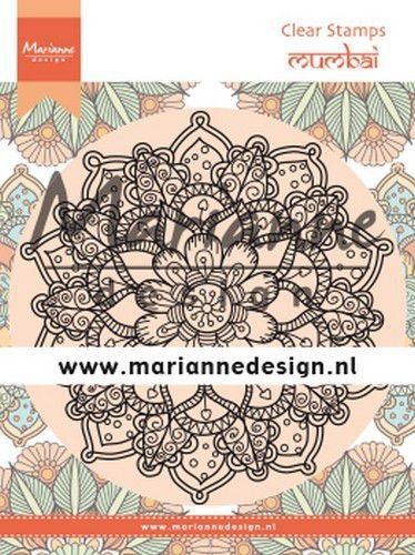 Marianne D Clear Stamps Mandala Delhi CS1035 120x160 mm (08-19)*