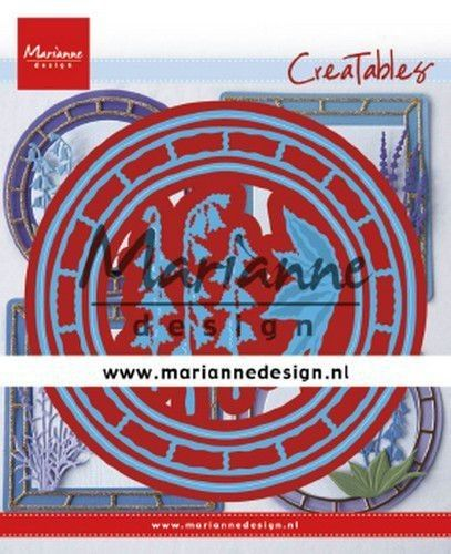Marianne Design - Creatables Blue bell circle LR0648 107mm diameter*