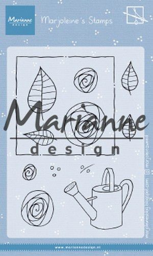 Marianne D Clear Stamps Marjoleine's roses MZ1901 105x148mm (07-19)*