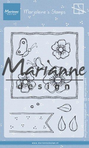 Marianne D Clear Stamps Marjoleine's anemones MZ1902 105x148mm (07-19)*