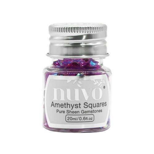 Nuvo Gemstones (ass. sizes) - amethyst purple 1405N (04-19)