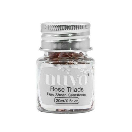 Nuvo Gemstones (ass. sizes) - rose triad 1407N (04-19)