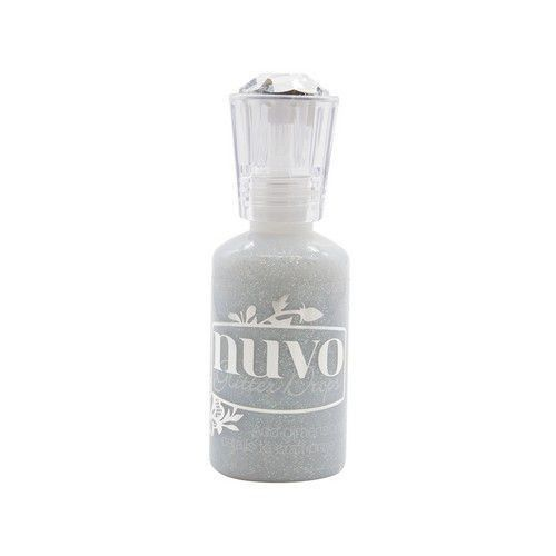 Nuvo Glitter drops - silver crystals 774N (08-19)