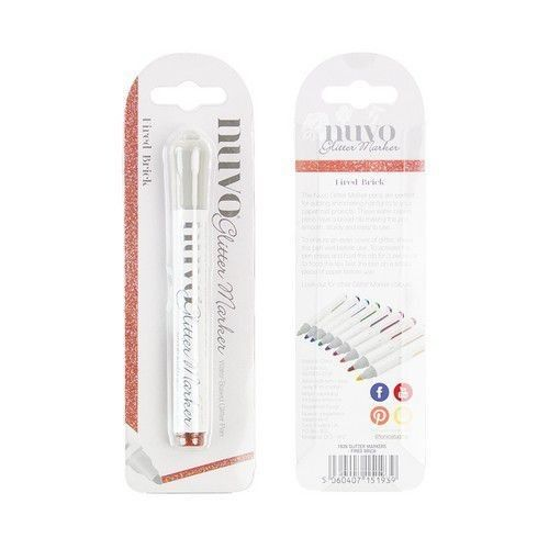 Nuvo glitter markers - fired brick 193N (08-19)
