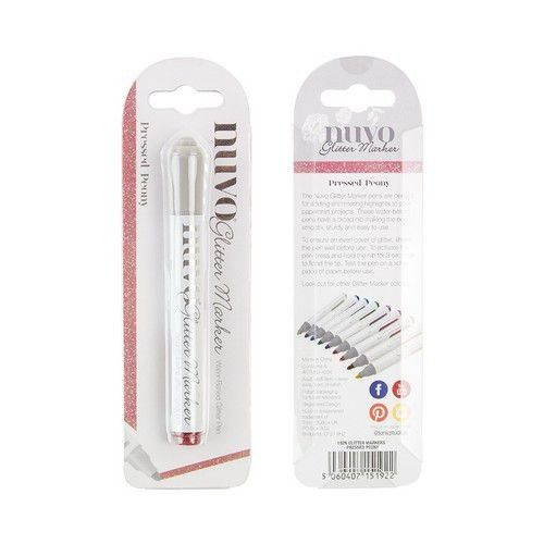 Nuvo Glitter markers - pressed peony 192N (11-19)