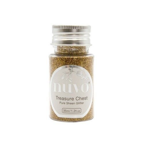 Nuvo Pure sheen glitter - treasure quest 35ml bottle 1113N (04-19)
