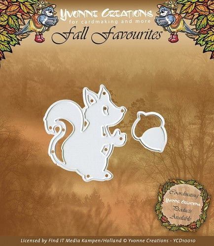 Die - Yvonne Creations - Fall Favourites - Squirrel